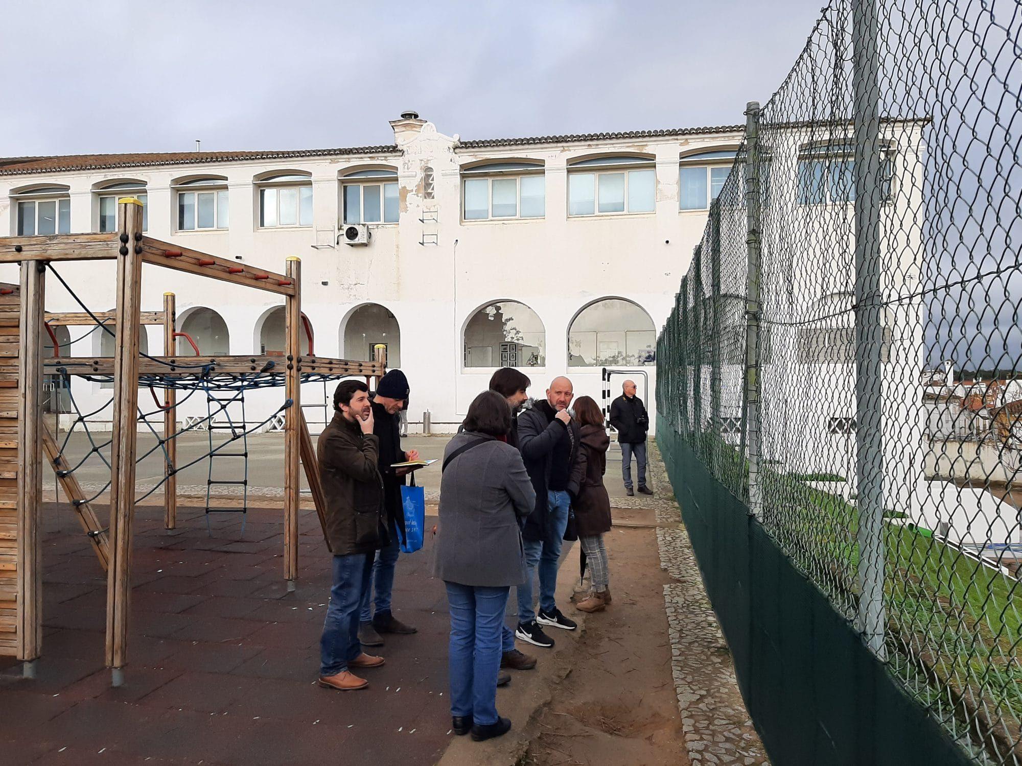 Visit to one of Évora's demosites